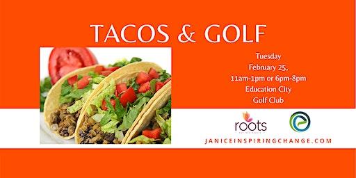 Taco Cooking Class & Mini Golf Lesson
