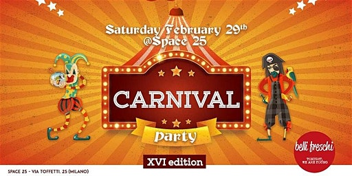 Carnival Party XVI edition - AmaMi Communication