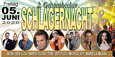 2. Geistenbecker Schlagernacht Tickets