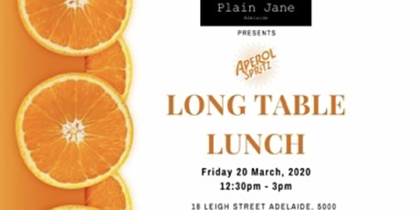 Long Table Lunch tickets