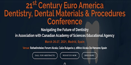 21st Century Euro America Dentistry & Dental Materials Conference tickets