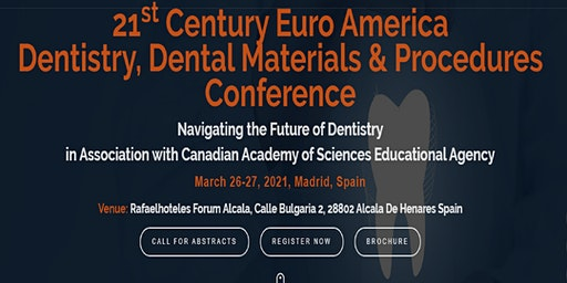 21st Century Euro America Dentistry & Dental Materials Conference