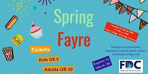 FDC Spring Fayre
