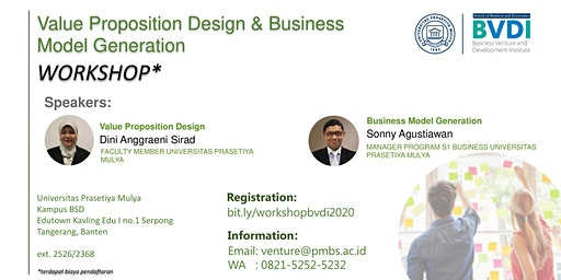 Workshop - Value Proposition Design & Business Model Generation