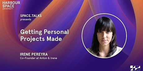 Getting Personal Projects Made with Irene Pereyra & Space.Bar Party entradas