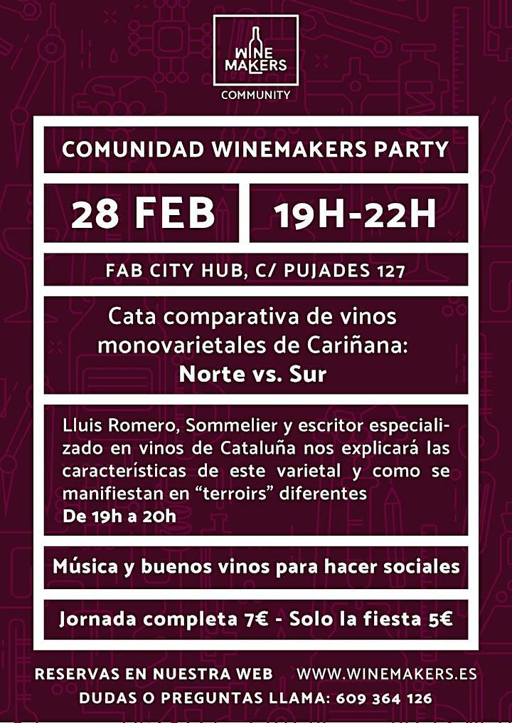 """Fiesta de la comunidad """"Winemakers"""" image"""
