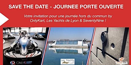 Journée Portes ouvertes OnlyKart / SeventyNine / Les Yachts de Lyon billets