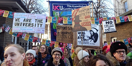 UCU strike solidarity assembly tickets