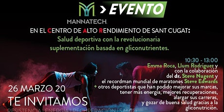MANNATECH EN EL C.A.R DE SANT CUGAT entradas