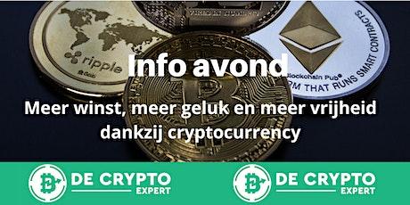 De Crypto Expert Info avond tickets
