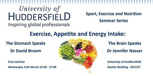 Sport, Exercise and Nutrition Seminar Series
