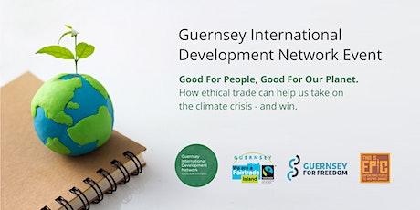 Guernsey International Development Network Event - Ethical Trade tickets