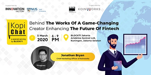 [Kopi Chat x Koinworks ] Jonathan Bryan and the future of fintech
