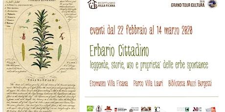 Mostra: La Botanica nelle Antiche Carte - Gran Tour Cultura 2020 tickets