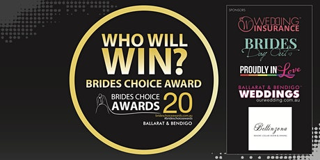 Ballarat & Bendigo Brides Choice Awards Gala Cocktail Party 2020 tickets