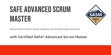 SAFe (5.0) Advanced Scrum Master tickets