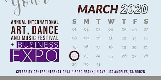 ANNUAL INTERNATIONAL ART, DANCE & MUSIC FESTIVAL - BUSINESS EXPO