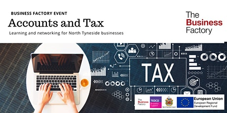 Dealing with Accounts and Tax | Wednesday 4th March at 1.30pm tickets