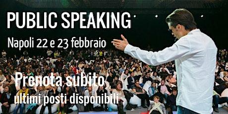 CORSO DI PUBLIC SPEAKING  A NAPOLI tickets