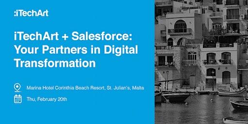 iTechArt + Salesforce: Your Partners in Digital Transformation