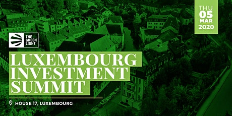 Luxembourg Cannabis Investment Summit tickets