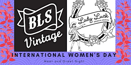 Bootlegger's Son Vintage International Women's Day Meet and Greet 2020 tickets