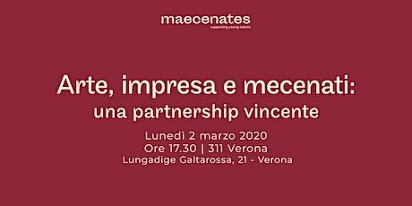 Arte, impresa e mecenati: una partnership vincente biglietti