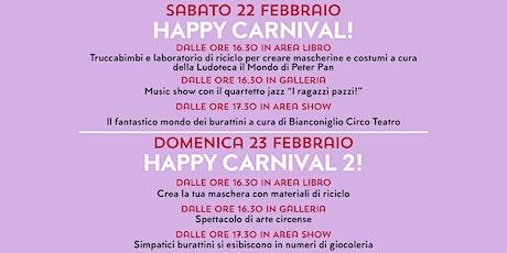 HAPPY CARNIVAL! @NUOVETERRE! VIVI IL TERRITORIO! biglietti