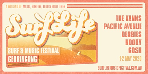 SurfLife Music Festival Gerringong 2020