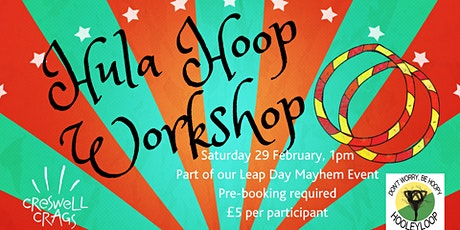Hula Hoop Workshop At Creswell Crags tickets
