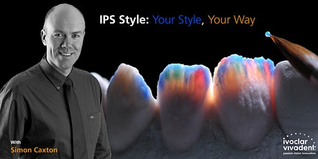 Simon caxton - IPS Style, Your Style, Your way tickets