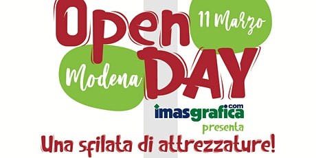 OPEN DAY - IMAS Grafica Modena tickets