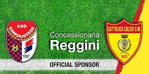 Reggini ti regala i biglietti per la partita del Cattolica Calcio SM