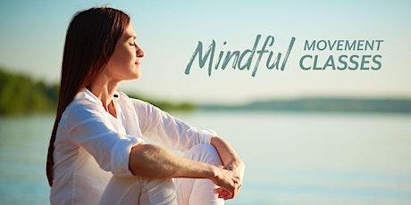 Mindful Movement class bilhetes