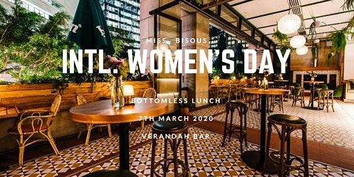 Miss Bisous Intl. Women's Day Bottomless Lunch