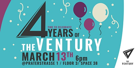 4 years of TheVentury - Birthday Party tickets
