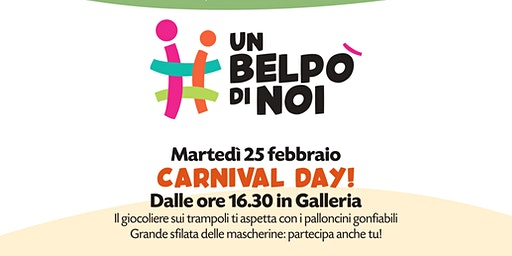 CARNIVAL DAY! @#UNBELPO'DINOI