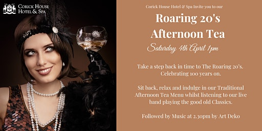 Roaring 20's  Afternoon Tea