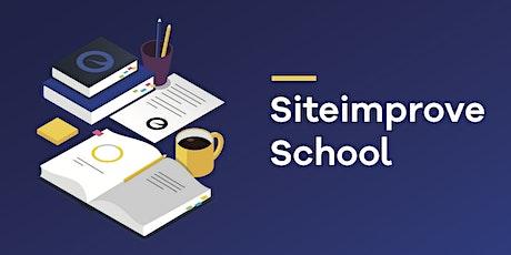 Siteimprove School - Grundkurs Tickets