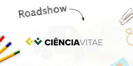Sessão de apresentação da plataforma  CIÊNCIAVITAE - IPCoimbra bilhetes
