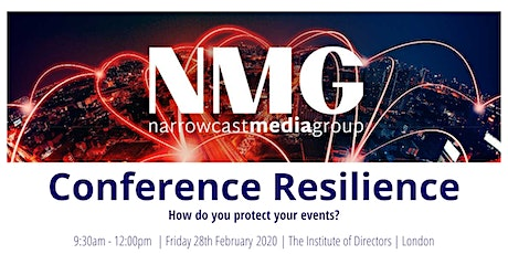 Conference Resilience: How do you protect your events? tickets