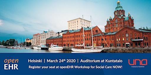 openEHR Workshop for Social Care