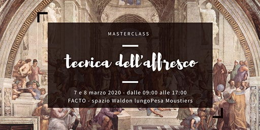 Masterclass tecnica dell'affresco