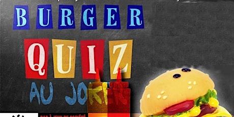 Burger Quiz billets