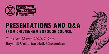 Greening Cheltenham & Climate Crisis - 2 talks from CBC tickets