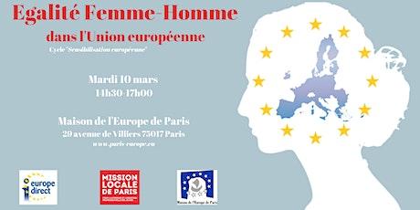 Egalité Femme-Homme dans l'Union européenne    billets