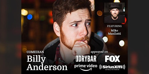 Stand-up Comedy Night with Billy Anderson