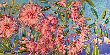 ART & WINE Guided Painting of Wild Australian Natives with Sonja Maclean tickets