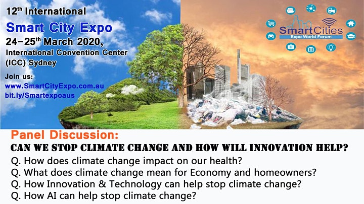 14th International Smart City Expo 2022, ICC Sydney & Live Streaming image