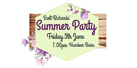 Scott Richards' Summer Party tickets